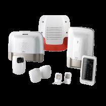 Pack alarme sans fil avecTransmetteur IP/GSM et détecteur vidéo préconfiguré (6410178)