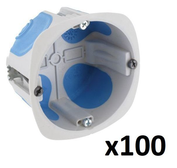 Pack de 100 Boîtes cloison No Air II MULTI MAT Ø67 mm prof. 40