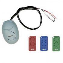 Pack radio INTIKIT : 3 télécommandes à 2 canaux et 1 récepteur (INTIKIT)