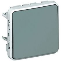 Permutateur Prog Plexo composable gris - 10 AX