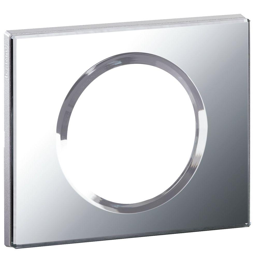 Plaque Céliane - Matières - 1 poste - Verre Miroir