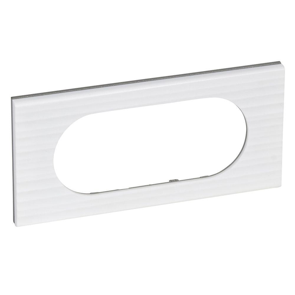 Plaque Céliane - Matières - 4/5 modules - Corian® Cannelé