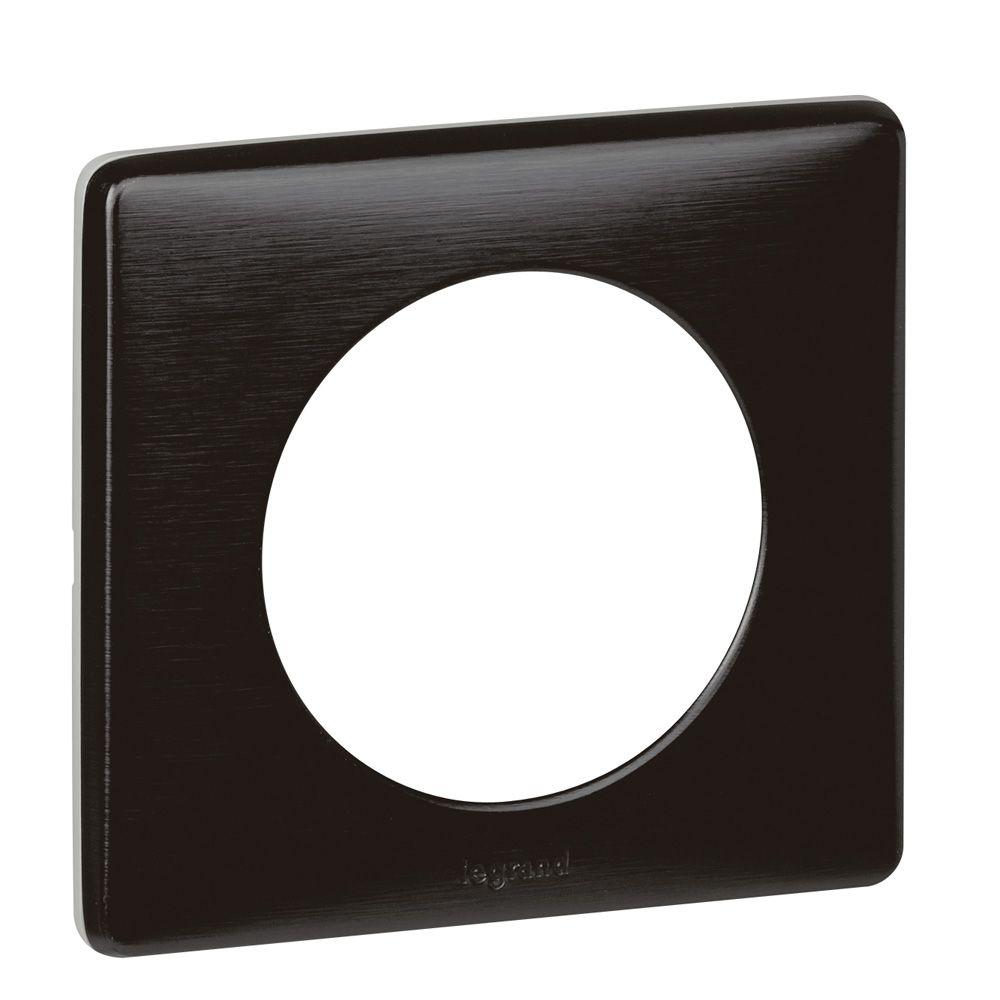 Plaque Céliane - Métal - 1 poste - Carbone