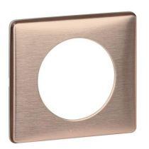 Plaque Céliane - Métal - 1 poste - Copper