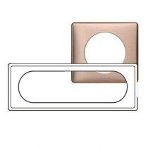 Plaque Céliane - Métal - 6/8 modules - Copper