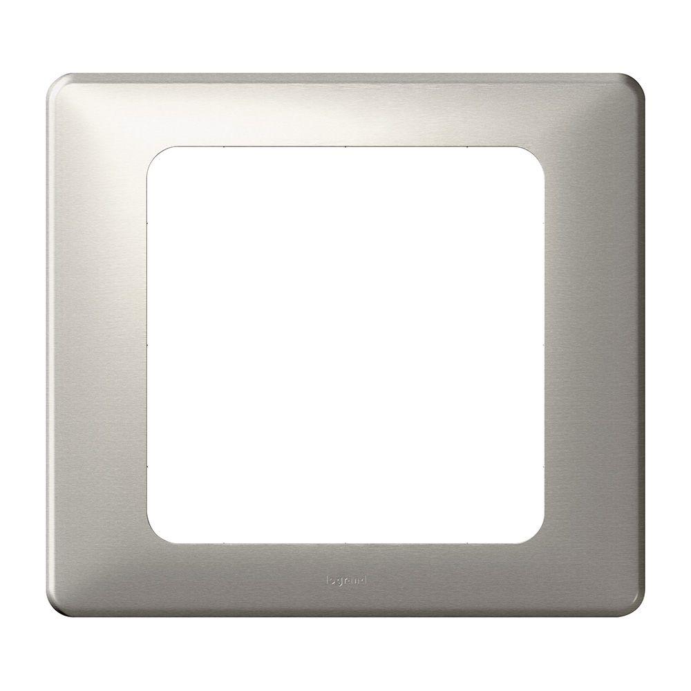 Plaque Céliane - Métal - grand format - Titane