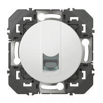 Prise blindée RJ45 cat6 FTP dooxie finition blanc (600376)