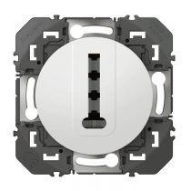 Prise téléphone en T dooxie finition blanc (600368)