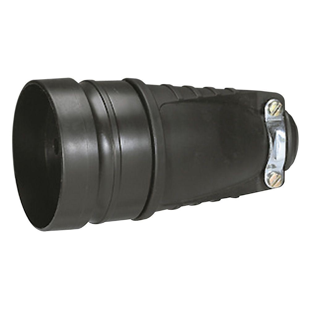 Prolongateur - 20 A - 3P+T - à anneau - sortie droite - caoutchouc (055071)