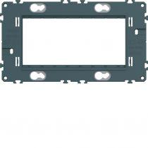 Support gallery 4 modules entraxe 57mm (WXA454)