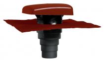 Terminal ventilé Ubiflu 2 tuile rouge multidiamétre (15380301)