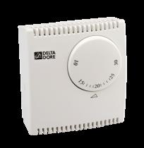 Thermostat d'ambiance filaire mécanique filaire pour chauffage et climatisation (6053038)