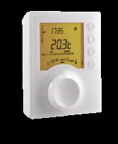 Thermostat programmable Piles avec 2 niveaux de consigne (6053005)