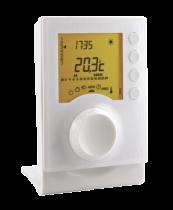 Thermostat programmable radio avec 2 niveaux de consigne (6053007)