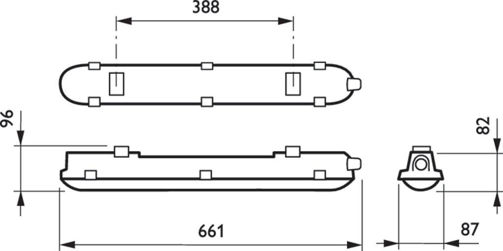 WT120C LED18S/840 PSU L600 (840459)